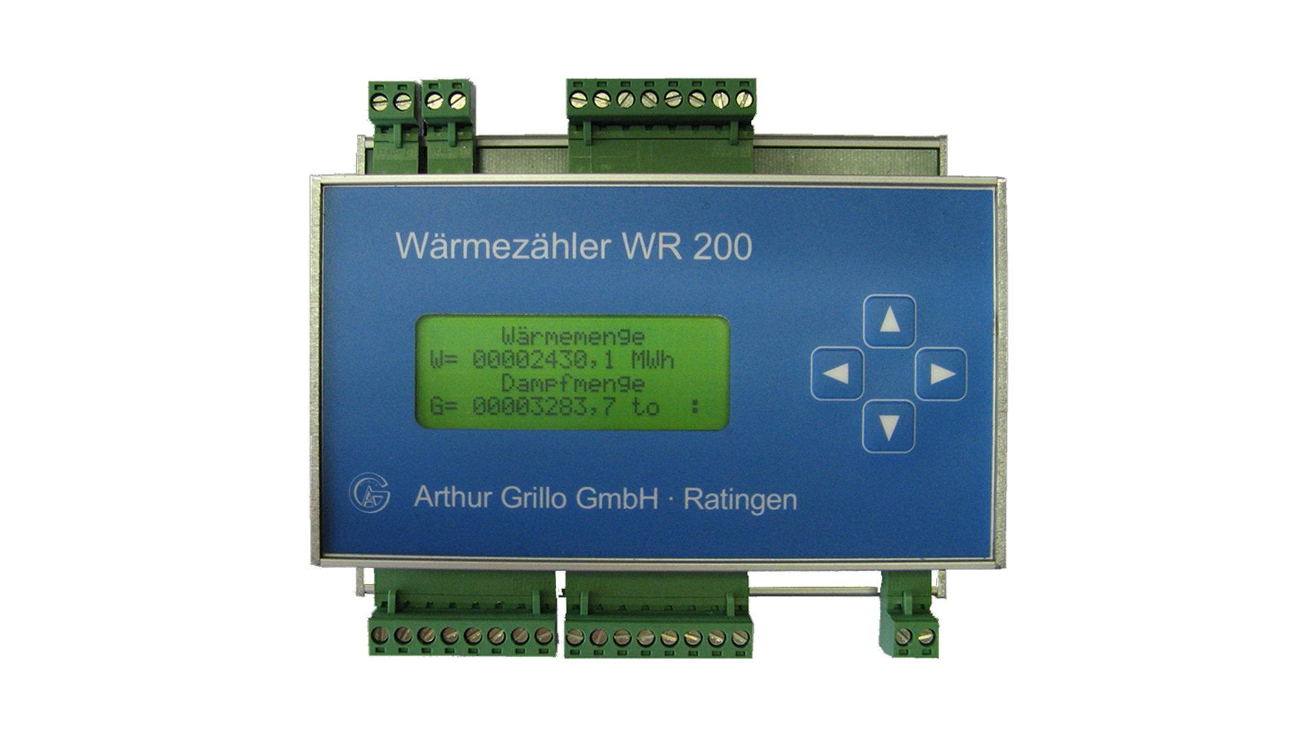 Thermal Energy Meter : Heat energy meter wr f arthur grillo gmbh