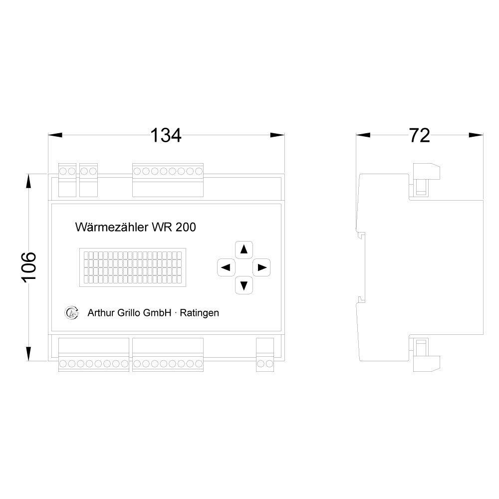 w rmez hler wr200 d arthur grillo gmbh. Black Bedroom Furniture Sets. Home Design Ideas