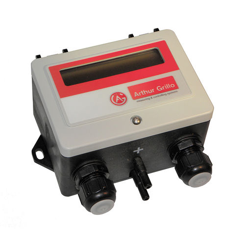Multi range differential pressure / Volume flow controller DPC310